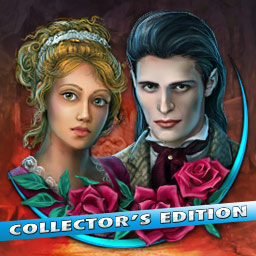 Dark Romance: Vampire In Love Collector's Edition - Can a vampire and a human have a happily ever after? Play the hidden object game Dark Romance: Vampire In Love Collector's Edition! - logo