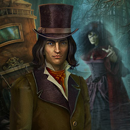 Dark Tales: Edgar Allan Poe's The Premature Burial - A young man has hired Detective Dupin to solve a mysterious case in the hidden object game Dark Tales: Edgar Allan Poe's The Premature Burial! - logo