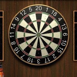 Darts - A free online game, Darts captures all the fun of playing darts in a pub without paying a tab! - logo