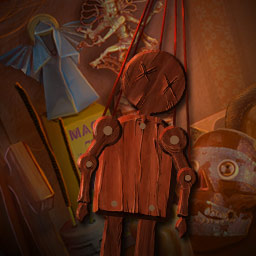 Deadly Puzzles: Toymaker - Face off against the serial killer known as the Toymaker and end his brutal crime spree in the hidden object game Deadly Puzzles: Toymaker! - logo