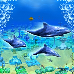 Deep Sea Tycoon - Go deep sea diving and discover a rich world of wildlife! - logo