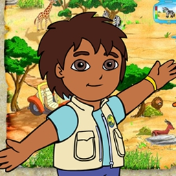 Diego's Safari Adventure - Join Diego as he sets out to break the spell on the elephants. - logo