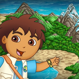 Diego's Ultimate Rescue - In Diego's Ultimate Rescue, help Diego return animals to their habitats! - logo
