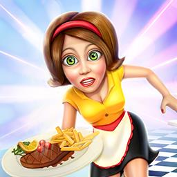 Diner Mania - Serve delicious food to your customers and give tough gangsters your spiciest peppers in the time management game Diner Mania. - logo