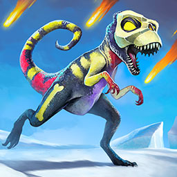 Dino Rage Defense - Build defensive towers to protect your time machine and survive the Ice Age in Dino Rage Defense, a tower defense game. - logo