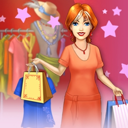 Dress Up Rush Online - Jane is all set to start her stylish new business in Dress Up Rush Online! Help Jane, our enterprising heroine, open an awesome boutique. - logo