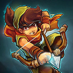 Dungeon Rushers - Be part of an epic adventure with a colorful cast of characters in an off-beat universe. - logo