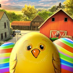Easter Eggztravaganza - It's an Easter Eggztravaganza! This hidden object game is brimming with Easter eggs, bunnies, candy and toys. - logo