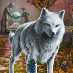 Echoes of the Past Wolf Healer - You must defeat a dark power in the hidden object game Echoes of the Past Wolf Healer! - logo
