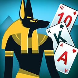 Egypt Solitaire: Match 2 Cards - Get ready for an archaeological adventure with Egypt Solitaire: Match 2 Cards! - logo