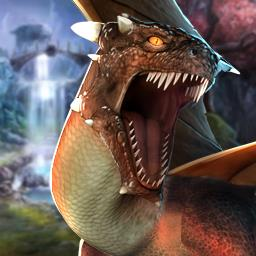 Emberwing: Lost Legacy - In the adventure game Emberwing: Lost Legacy, a dragon attacked your house and kidnapped your son! - logo