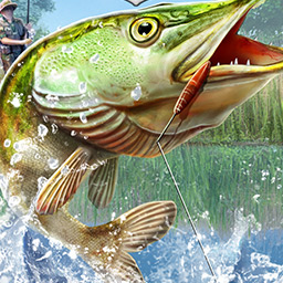 European Fishing - Select appropriate equipment and jump on a motorboat to go to one of the five huge lakes in search of the perfect fishery. - logo
