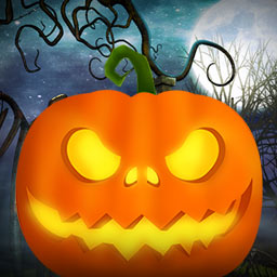 Evil Pumpkin: The Lost Halloween - Find out what happened to Halloween in Evil Pumpkin: The Lost Halloween, a hidden object game. - logo