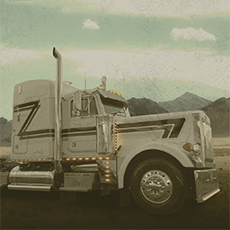 Extreme Roads USA - Accept your assignments, select your trucks, and transport all sorts of goods along the toughest routes on their matching trailers. - logo