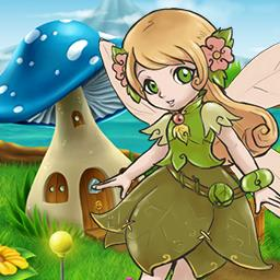 Fairyland Match - Save Ruby The Fairy's home from the evil Mr. Goldy in the match 3 game Fairyland Match. - logo