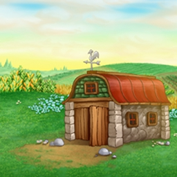 Fantastic Farm - Help Maggie run her magical farm in 117 levels of Fantastic Farm! - logo