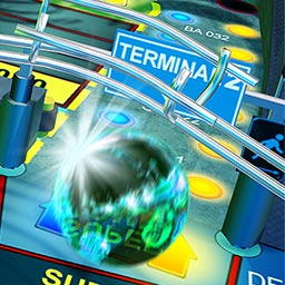 Fantastic Pinball Thrills - Marvel at the superb realism on 6 uniquely themed tables with a variety of camera perspectives that deliver the perfect Pinball feeling. - logo