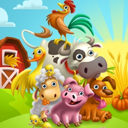 Farm 2 - Plant new crops, upgrade pens, and welcome new animals into your menagerie in Farm 2, a fun time-management game! - logo