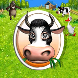 Farm Frenzy - Show Old MacDonald how it's done with the crazy fun of Farm Frenzy! - logo