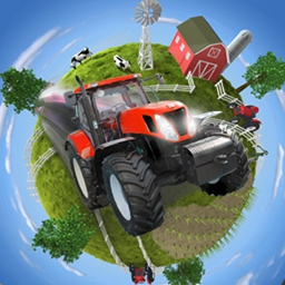 Farming Giant - Do you have what it takes to be a successful farmer? Test your farming and ranching skills like never before. Play Farming Giant today! - logo