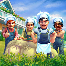Farm to Fork Collector's Edition - Global Mart is taking over the Valley of Farmers and only your time management skills can stop them in Farm to Fork Collector's Edition! - logo