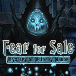 Fear For Sale: Mystery of McInroy Manor - ¿Eres lo suficientemente valiente para explorar la mansión encantada de los McInroy en el juego de aventuras Fear For Sale: Mystery of McInroy Manor? - logo