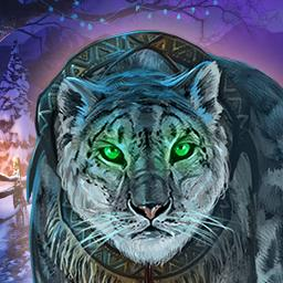 Fierce Tales Feline Sight - Investigate mysterious snow-leopard attacks in the hidden object game Fierce Tales Feline Sight! - logo