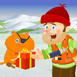 Finders Keepers Christmas - Floyd & Goldie are back for another Finders Keepers adventure. They are off to help Santa deliver sweet treats. Play Finders Keepers Christmas today! - logo