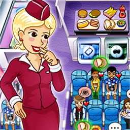 First Class Flurry - Prepare for take-off as the best flight attendant at Starlink Air! - logo