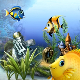 Fishdom - Solve match 3 puzzles to customize your perfect aquarium in Fishdom! - logo