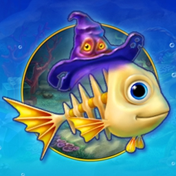 Fishdom - Spooky Splash - Solve puzzles and create a spooky aquarium in Fishdom - Spooky Splash! - logo