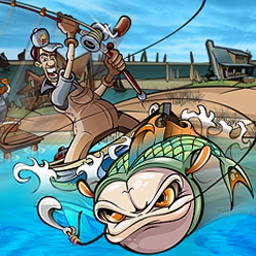 Fishing Craze - Cast your line and catch a boatload of fishy fun in Fishing Craze! - logo