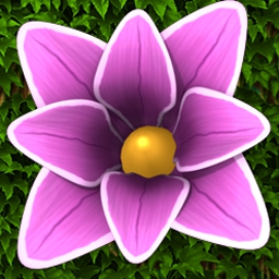 Flower Paradise - Match 18 flower types to customize the perfect garden in Flower Paradise! - logo