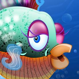 Free Aqua Zoo - Find fish and manage your fish tank in the simulation game Free Aqua Zoo! - logo