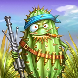 Garden Rescue - A swarm of beetles is heading to your garden, command the defense and save the day. Play Garden Rescue today! - logo