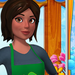 Garden Shop - Grow and decorate your plants to earn money in this exciting time management game. Play Garden Shop! - logo