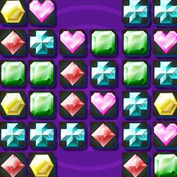 Gem Swap II - Swap sparkling jewels and watch them pop in Gem Swap 2, a FREE match 3 game! - logo