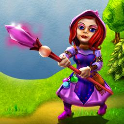 Gnomes Garden - Cure the king by saving the royal garden in the time management game Gnomes Garden! - logo