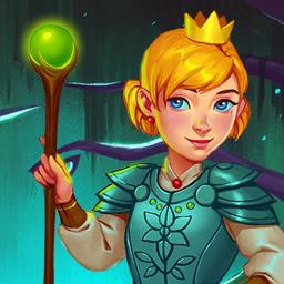 Gnomes Garden 3 - Defeat the queen of the trolls in the time management game Gnome's Garden 3! - logo