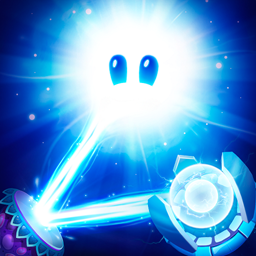 God of Light - Join cute game mascot Shiny on his way to saving the universe from the impending darkness. - logo