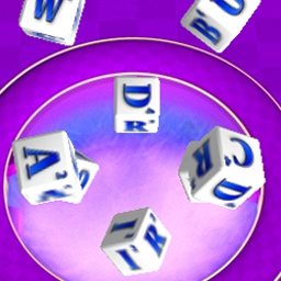 "Greedy Words - Roll the ""lettered"" dice - can you score a perfect word? - logo"