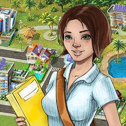 Green City - Build your own eco-friendly city and maintain a happy life for it's dwellers. Play Green City today and create a beautiful virtual world. - logo