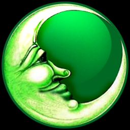 Green Moon - Green Moon lets you search, think, and apply to solve unique puzzles! - logo