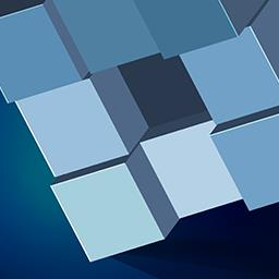Grey Cubes - Grey Cubes is a modern, 3D twist on the traditional brick breaker arcade game. Play now! - logo