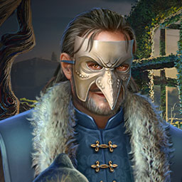 Grim Facade The Artist and The Pretender - Play the hidden object game Grim Facade The Artist and The Pretender today! - logo
