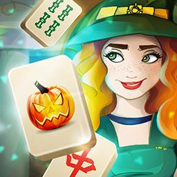 Halloween Night 2 Mahjong - Match tiles in this Halloween-themed game. Play Halloween Night 2 Mahjong! - logo