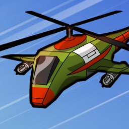 Helicops - Take to the air in the meanest helicopter brawl around in Helicops! - logo