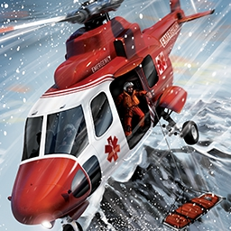 Helicopter Simulator: Search and Rescue - Are you ready to fight fires and conduct perilous rescue missions? Because that's just the beginning in Helicopter Simulator: Search and Rescue. - logo