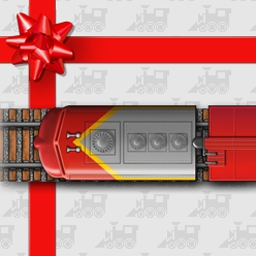 Holiday Express - Distribute gifts before they're backed up on the conveyor belt! - logo