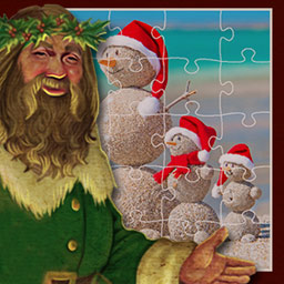 Holiday Jigsaw Christmas 2 - Ho ho ho! Put together 500 Christmas-themed puzzles in Holiday Jigsaw Christmas 2. - logo